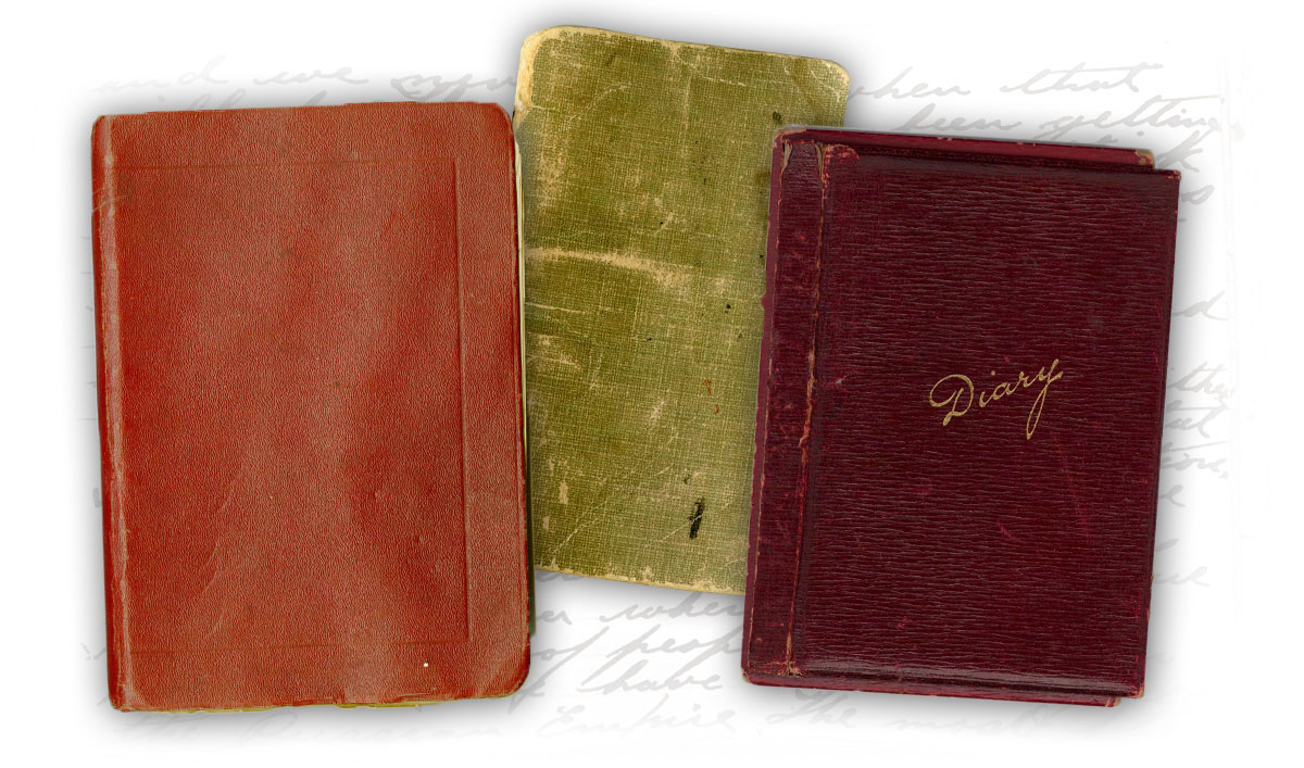 Pocket diary covers